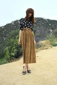 Summer maxi skirt outfit 1