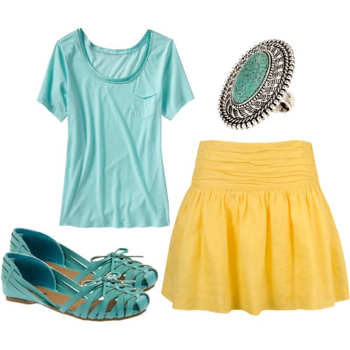 How to wear a summer skirt