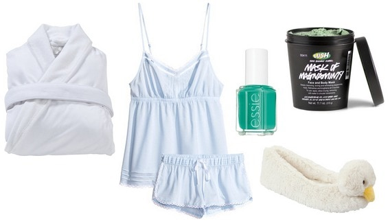 Summer spa day outfit