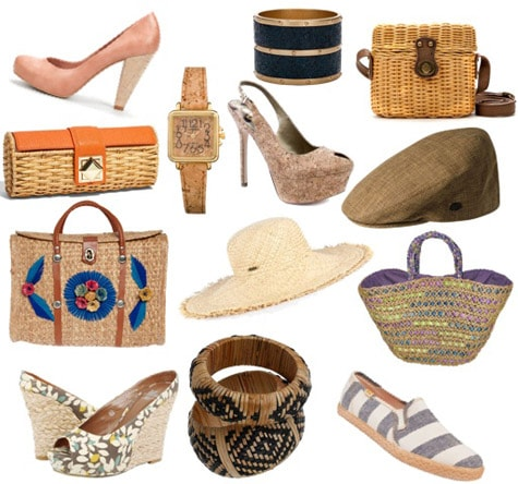 Summer 2011 accessories trend: Unique materials