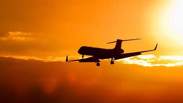summer vacation plane