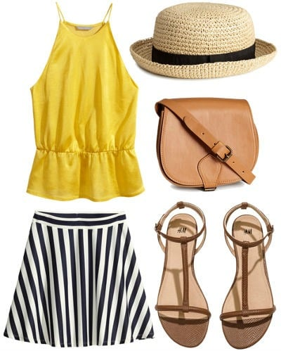 Summertime outfit from H&M