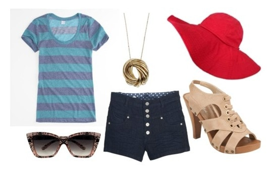 How to wear a sun hat - outfit 1