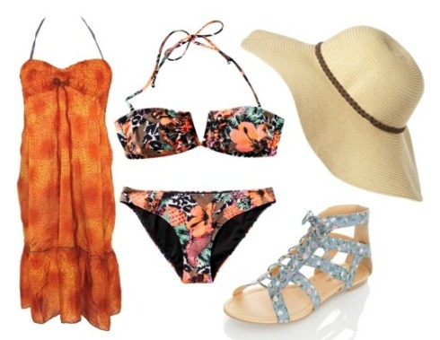 How to wear a sun hat - outfit 2