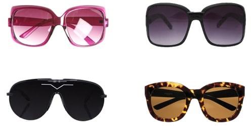 Sunglasses for an oval face shape