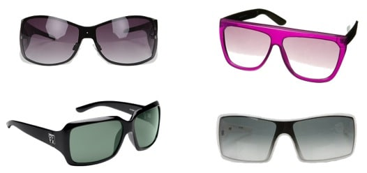 Sunglasses for a round face shape