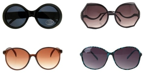 Sunglasses for square face shapes
