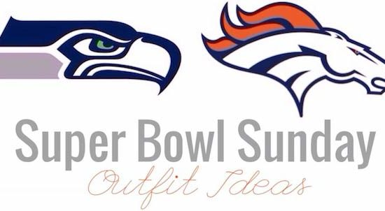 Super Bowl Sunday outfit ideas for Seahawks and Broncos fans