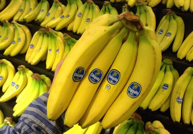 supermarket bananas