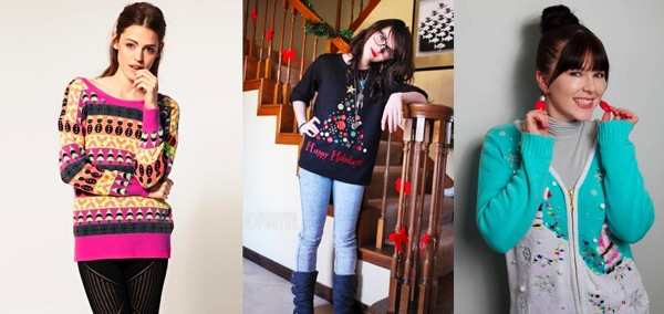 Holiday Sweater Collage