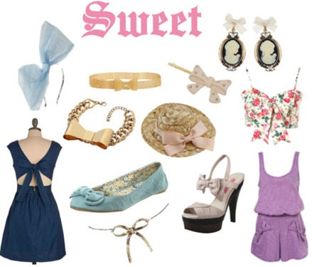 Sweet bows fashion trend
