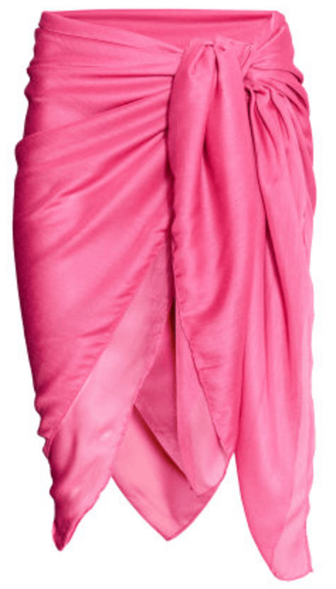 Bright pink sarong