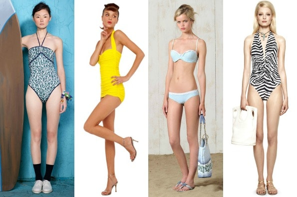 swimwear at Suno, Norma Kamali, Philosophy and Emilio Pucci Resort 2012