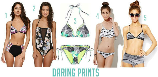 Printed Swimsuits Summer 2014