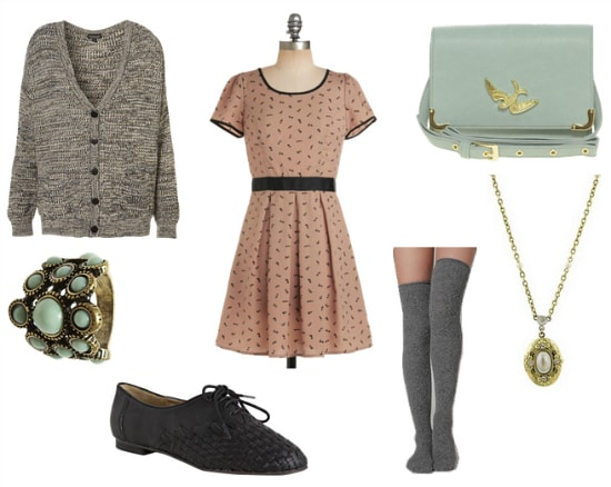 Sylvia Plath Inspired Outfit 1