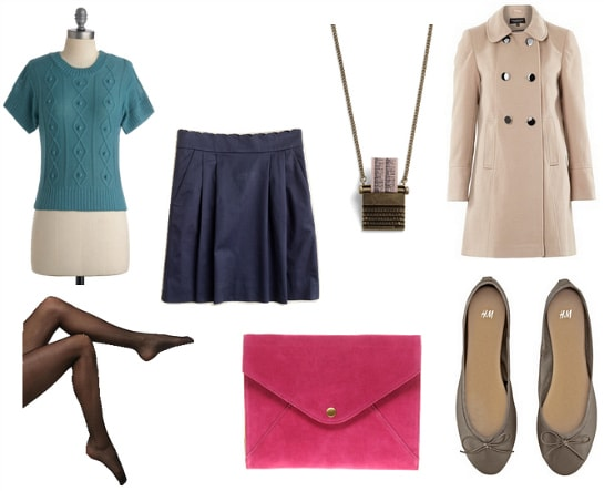 Sylvia Plath Inspired Outfit 3
