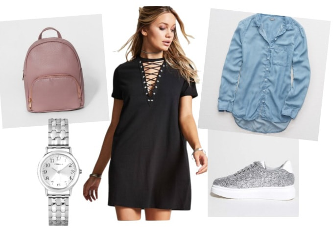 Lace Up T Shirt Dress Outfit Ideas 3 Ways To Wear