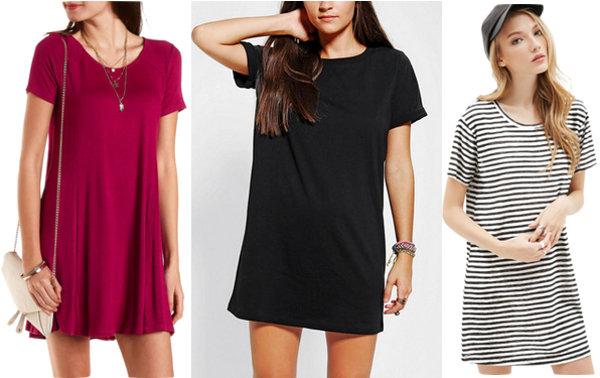 3 T shirt dresses