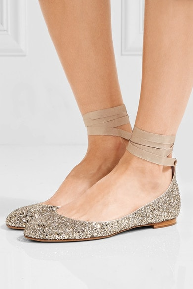 Lace Up Ballet Flats Trend - How to