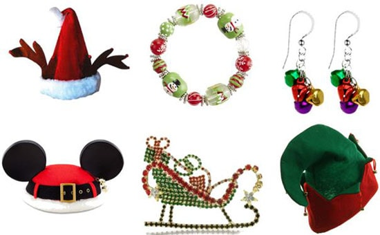 Tacky christmas accessories