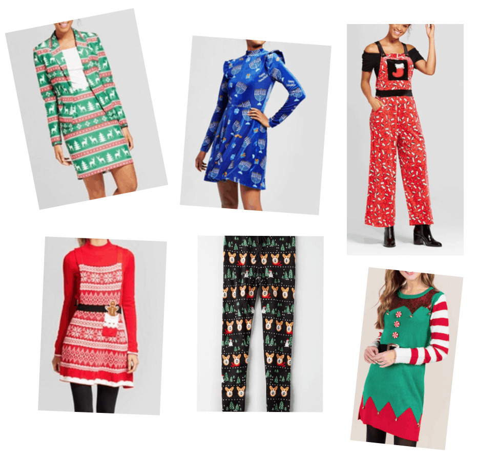 Holiday fashion trends 2017: Tacky christmas outfits