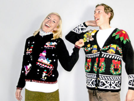 Tacky xmas sweaters