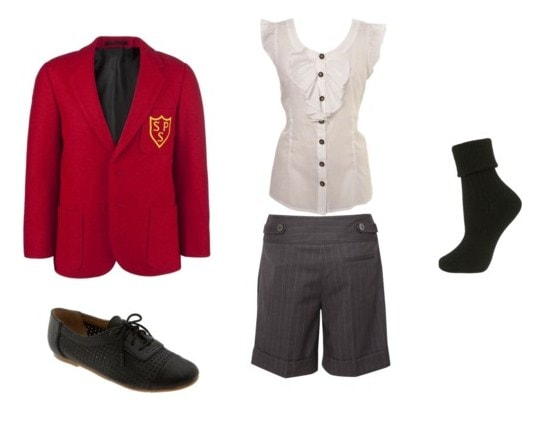 tailored outfit for girls