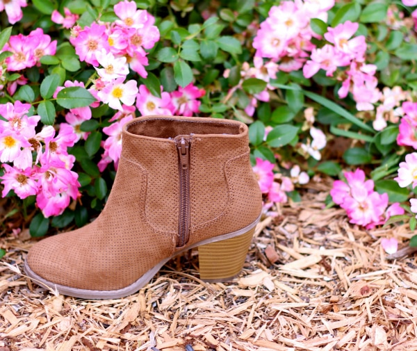 Tan-Camel-Ankle-Boot-by-Pink-Flowers