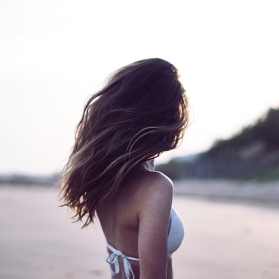 Tan girl at the beach