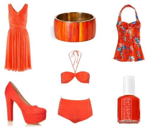 Tangerine spring 2012 color trend