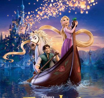 Movie poster: Walt Disney's Tangled