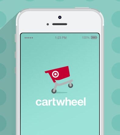 Screenshot of Target Cartwheel App