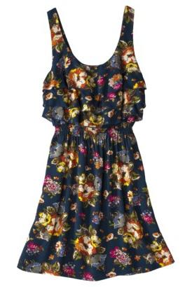 Target Floral Ruffle Dress