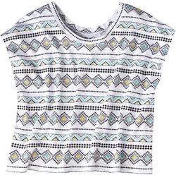 Target geometric print tee shirt