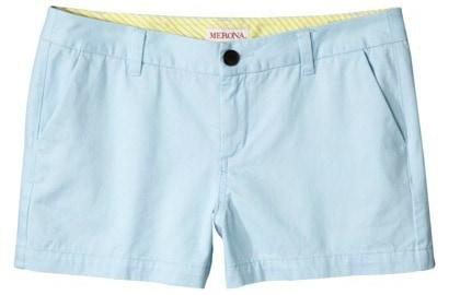 Target pastel blue shorts