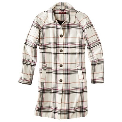 Target plaid coat