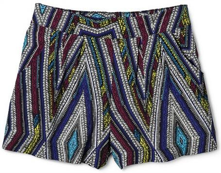 Target printed shorts