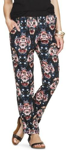 Target printed trousers