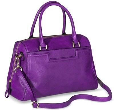 Target purple handbag