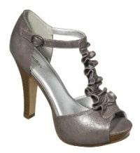 target ruffled heels