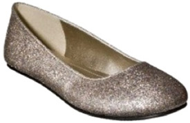 Target sparkly flats