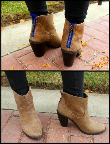 Target suede ankle boots