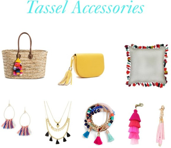Tassel accessories for summer