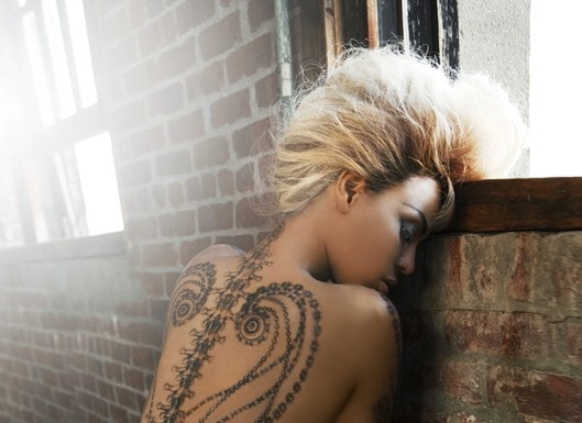 Beyonce's Dereon Line of Temporary Tattoos
