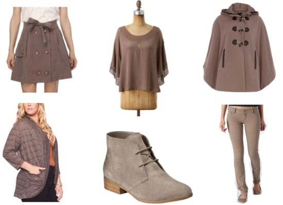 Taupe fall 2011 color