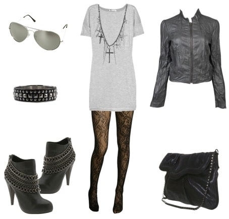 Taylor Momsen day outfit