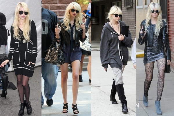 Taylor Momsen's Daytime Looks