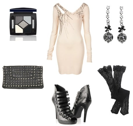 Taylor Momsen night outfit