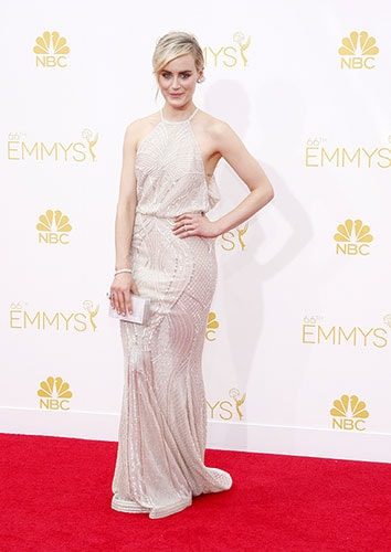 Taylor Schilling in Zuhair Murad at the 2014 Emmy Awards