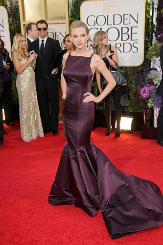 Taylor Swift at the 2013 golden globes